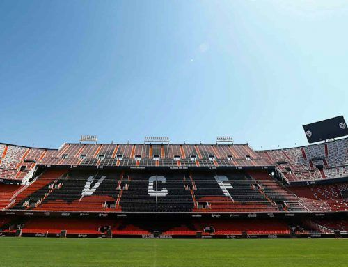 THE MESTALLA STADIUM LAUNCHES A MEGAPHONY PROVIDED BY FLUGE PROYECTOS