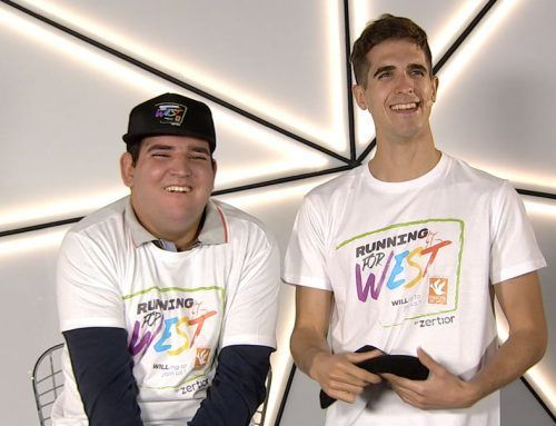 """DIEGO MENTRIDA AND THE WEST SYNDROME FOUNDATION CREATE THE SOLIDARITY PROJECT """"RUNNING FOR WEST"""""""