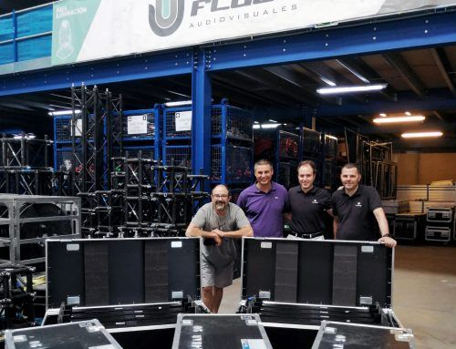 FLUGE AUDIOVISUALES EXPANDS ITS LIGHTING EQUIPMENT WITH LPG