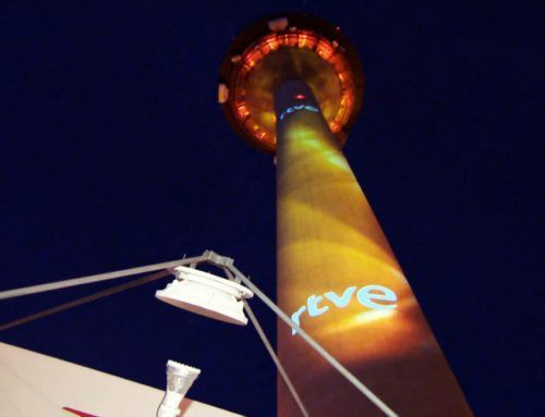 """""""EL PIRULÍ"""" WAS LIT UP DURING FOUR NIGHTS ON THE OCCASION OF RTVE'S """"THE GREAT CONSULTATION"""""""