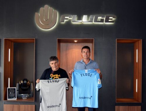 UD IBIZA VISITS FLUGE AUDIOVISUALES FACILITIES, THE CLUB'S NEW OFFICIAL SPONSOR
