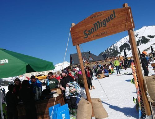 SAN MIGUEL CONDUCTS MUSIC AND GASTRONOMY TO BAQUEIRA'S PEAK