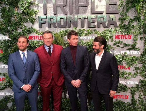 """FLUGE AUDIOVISUALES AT THE """"TRIPLE FRONTIER"""" PRESENTATION OF NETFLIX"""
